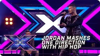 Jordan Curtis mashes One Direction with hip hop! | X Factor: The Band | Arena Auditions