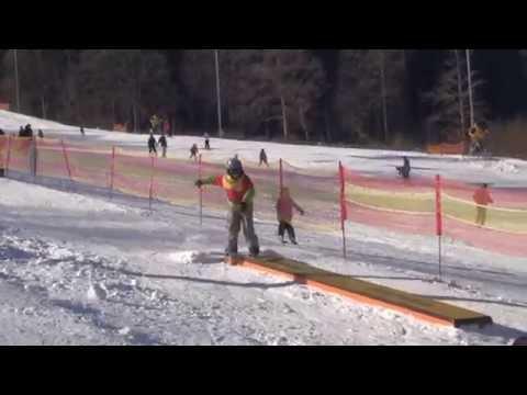 Zahájení provozu snowparku na Monínci