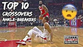 Top 10 James Harden CROSSOVERS & ANKLE-BREAKERS (Career)