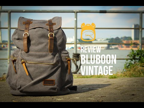 Bluboon Vintage Rucksack – Review auf Deutsch – Rucksack Test