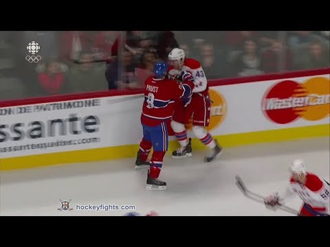 Tom Wilson vs Brandon Prust