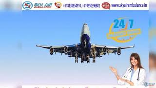 Pick Air Ambulance in Patna with Special Medical Support