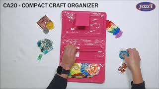 CA20 Compact Craft Organizer | Yazzii Craft Bag