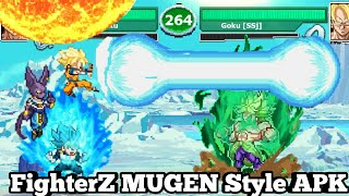 Dbz mugen apk download | Goku War: MUGEN Saiyan Battle for
