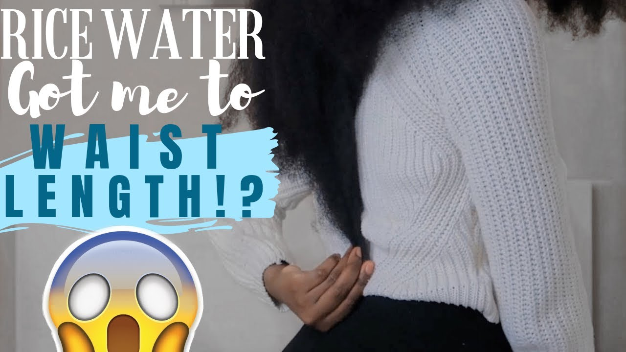 RICE WATER IS THE TRUTH AND NOTHING BUT! | EXTREME HAIR GROWTH IN JUST 6 WEEKS! | YAA YAA