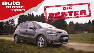 Citroën Grand C4 Picasso: Raumwunder - Die Tester | auto motor und sport