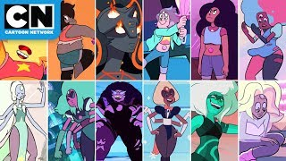 Steven Universe | Top Gem Fusions | Cartoon Network