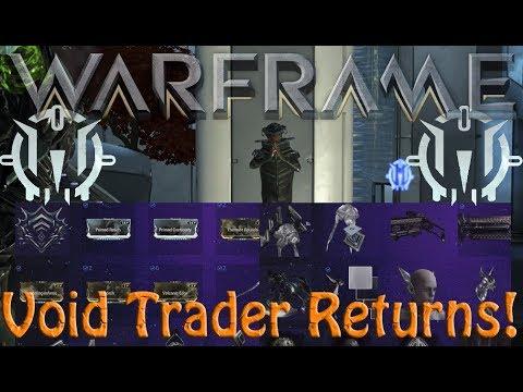 Warframe - Void Traders Returned! 118th Rotation