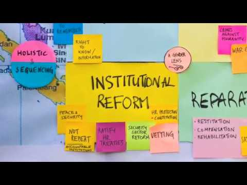 Transitional Justice in Asia Video Series - #5 - Institutional Reform