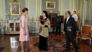 Chủ tịch Quốc hội Nguyễn Thị Kim Ngân chào xã giao Công chúa kế vị Thụy Điển