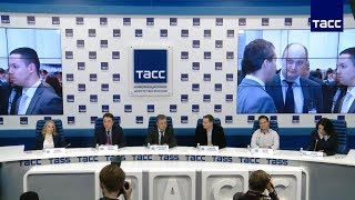 Пресс-конференция Инфофорума- 2018 в ТАСС