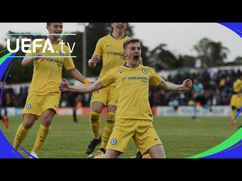 UEFA Youth League Semi-final highlights: Barcelona v Chelsea