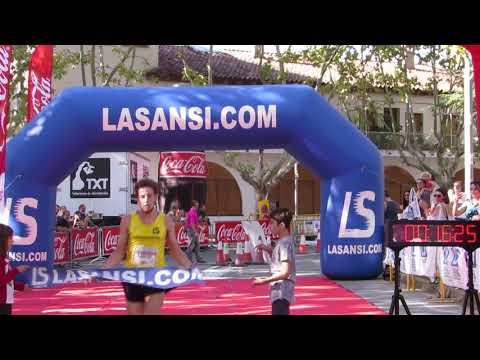 Llegada del campeón 5km