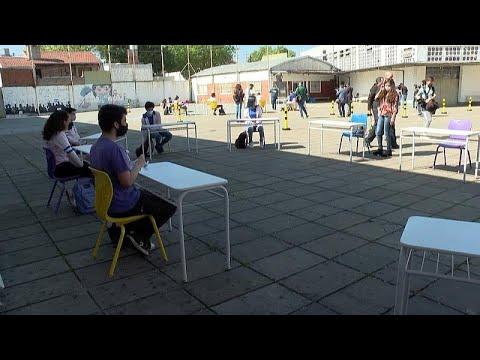 Αργεντινή: Επιστροφή στα θρανία για τους μαθητές