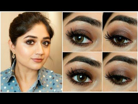 Shimmery Chocolate Smoky Eye Makeup Tutorial | corallista