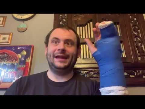 Fast geschafft - Mein Finger Bruch (Fraktur) mit Dorsaler Schiene zur Ruhigstellung Video Log