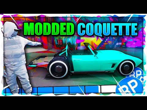 "GTA 5 ONLINE - *NEW* ""Modded Coquette Classic"" Modded Car ""Rarest Car In The Game""! Patch 1.44 (PC)"