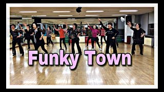 Funky Town line dance (Beginner) 윤은희 Eun Hee Yoon-September 2018