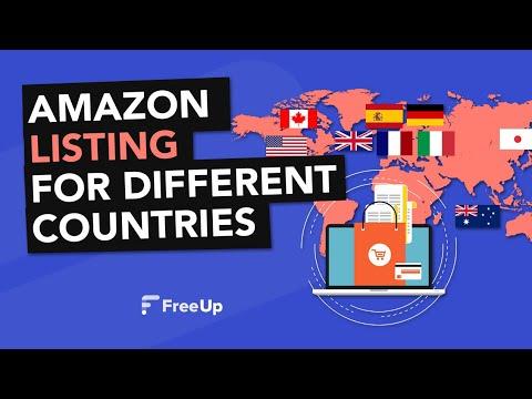 Creating Amazon Listings for International Markets US, CA, UK, ES, IT, DE