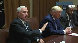 President Trump Participates in a Roundtable on Fighting for America's Seniors