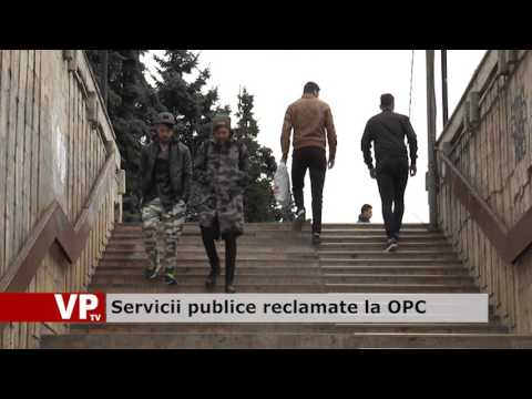 Servicii publice reclamate la OPC