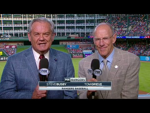 Rangers' Broadcaster Tom Grieve Announces Retirement in 2022