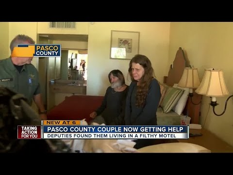 Community helping disabled man and wife after being kicked out of Holiday motel