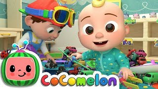 Clean Up Song | Cocomelon (ABCkidTV) Nursery Rhymes & Kids Songs