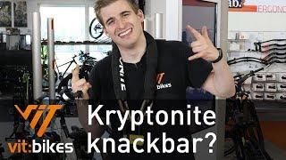 Kryptonite Fahgettaboudit! Sicherstes Schloss? - vit:bikesTV 195
