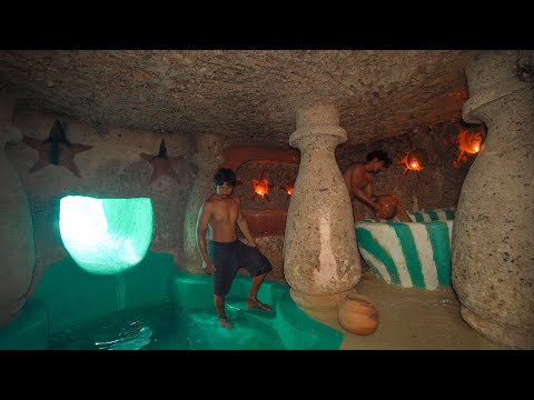 These Guys Built A Survival Temple Underground