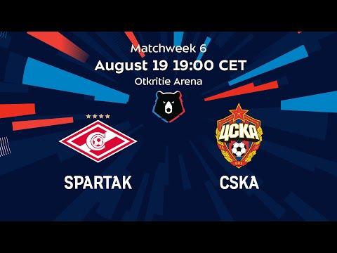Spartak vs CSKA, Matchweek 6 | Russian Premier Liga