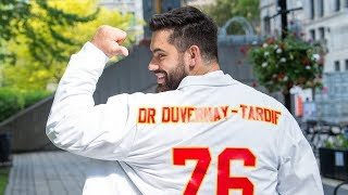 Laurent Duvernay Tardif Graduates From Medical School