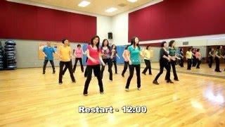 Make The World Go Round - Line Dance (Dance & Teach in English & 中文)
