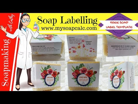 How to label soap DIY beginners easy soap labelling & free soap label making template mysoapcalc 116