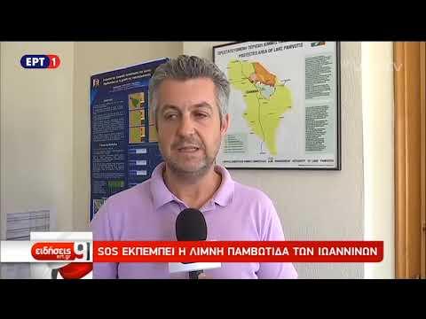SOS εκπέμπει η λίμνη Παμβώτιδα των Ιωαννίνων   ΕΡΤ