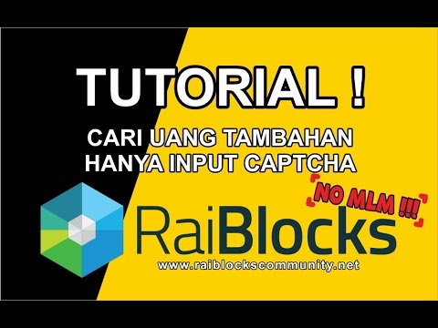Video TUTORIAL RAIBLOCKS ! (CARI RUPIAH DI RAIBLOCKS)