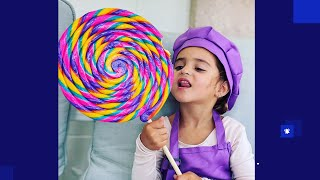 Kids doing Chores for Money so they Can Buy CANDY in pretend play Candy Sto