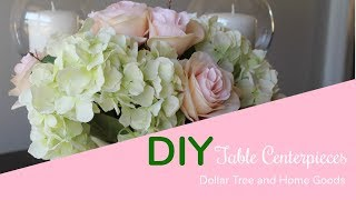 DIY: DOLLAR TREE And HOME GOODS Kitchen Table Centerpieces