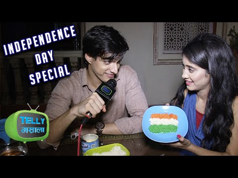 Kartik Naira Make Tri Color Sweet | Independence Day Special |  Exclusive