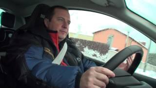 Смотреть онлайн Безопасная дистанция между автомобилями зимой