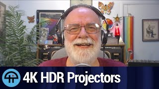 4K HDR Projectors and Wiggling Pixels