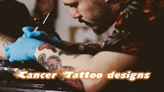 Cancer Tattoo Designs - Cancer Ribbon Tattoo Designs - Tattoo Designs