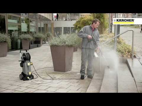 Karcher HD 6/13 C Pressure Washer **New 2014 Model** In Action