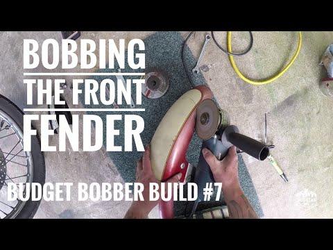 XVS 650 Bobber Build #4 Front Mudguard #2 - Youtube Download