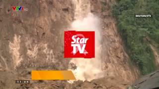 Смотреть онлайн Несколько домов ушли под воду во Вьетнаме