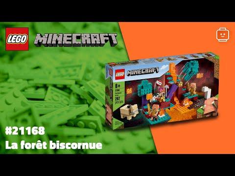Vidéo LEGO Minecraft 21168 : La forêt biscornue