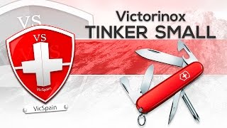 VICTORINOX TINKER SMALL - SWISS ARMY KNIFE REVIEW