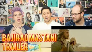 Bajirao Mastani -Trailer - REACTION!!