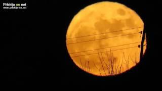 Polna Luna na božič po 38 letih