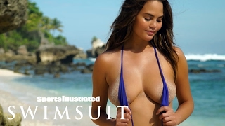 Chrissy Teigen Gets Wet For Her Steamy Sumba Island Shoot | Intimates | Sports Illustrated Swimsuit